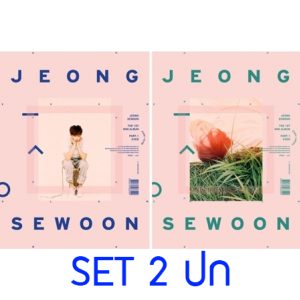 "[PRE-ORDER] JEONG SE WOON - 1st Mini Album""EVER"" (SET 2 ปก)"