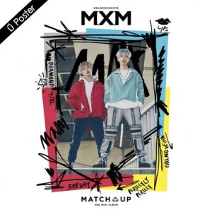 "[PRE-ORDER] MXM (BRANDNEWBOYS) - 2nd Mini Album ""MATCH UP"" (M Ver.)"
