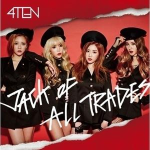 "[PRE-ORDER] 4TEN - 1st Mini Album ""JACK OF ALL TRADES"""
