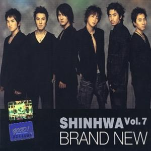 """[PRE-ORDER] SHINHWA - 7th Album """"BRAND NEW"""""""