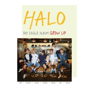 "[PRE-ORDER] HALO - 3rd Single Album ""Grow Up"""