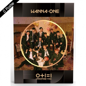 """[PRE-ORDER] WANNA ONE - 2nd Mini Album """"0+1=1 (I PROMISE YOU)"""" (Night Ver.)"""