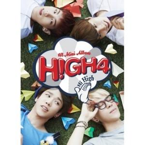 "[PRE-ORDER] High 4 - 1st Mini Album ""Hi High"""
