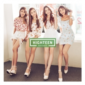 "[PRE-ORDER] HIGHTEEN - 1st Mini Album ""TEEN MAGIC"""