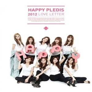"[PRE-ORDER] Son Dam Bi & After School - Happy PLEDIS 2012 ""Love Letter"""