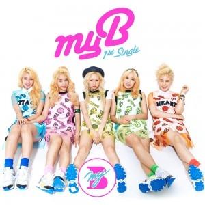 "[PRE-ORDER] myB - 1st Single Album ""MY OH MY"""