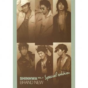 """[PRE-ORDER] SHINHWA - 7th Album """"BRAND NEW"""" (Bonus VCD)"""
