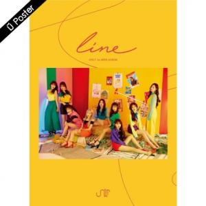 "[PRE-ORDER] UNI.T - 1st Mini Album ""LINE"""