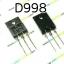 D998 NPN TRANSISTOR 120V/10A thumbnail 1