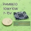 PAM8610 Power Amplifier Class D 10W+10W คลาสดีจิ๋ว thumbnail 1