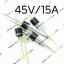 T193: 15SQ045 junction box Scottish diode 15A/45V thumbnail 1