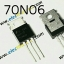 70N06 N Channel Power Mosfet 60V 70A thumbnail 1