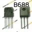 B688 PNP TRANSISTOR -120V/-8A thumbnail 1