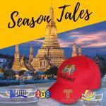 หมวกปัก Thailand, Pattaya, ช้าง