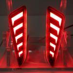 ไฟทับทิมกันชนท้าย TOYOTA CH-R 2018 แดง LED (V.2)