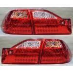 ไฟท้าย HONDA ACCORD 1998-2002 ขาวแดงเพชร LED