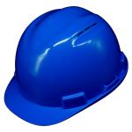 หมวกนิรภัย safety Helmet C-50 Vent Cap สีน้ำเงิน (Blue) โครงรองในปรับเลื่อน สายรัดคาง 4 จุด