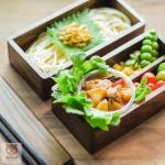 กล่องข้าวไม้ 2 ชั้น - 2 Tier Bento Box