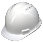 หมวกนิรภัย safety Helmet C-50 Vent Cap สีขาว (White) โครงรองในปรับเลื่อน สายรัดคาง 4 จุด