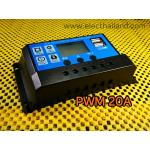 S237:20A Solar Charge LCD Solar Charger Controller auto 12V 24V