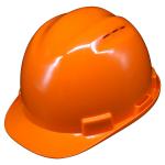 หมวกนิรภัย safety Helmet C-50 Vent Capสีส้ม (Orange) โครงรองในปรับเลื่อน สายรัดคาง 4 จุด