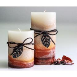 Fall 4 Layer Candle