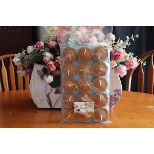 เทียนหอมทีไลท์ [Tealight Candle] กลิ่น ขนมปังขิง [Spiced Gingerbread ] 15 ชิ้น ต่อแพ็ค
