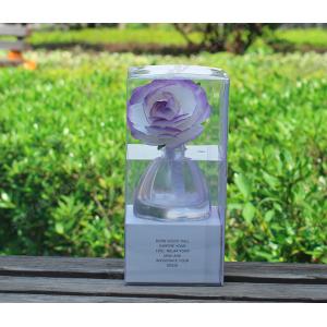ก้านไม้หอมอโรม่าดอกไม้ ในขวดแก้ว ขนาด 40ml กลิ่น ดอก ดอกลาเวนเดอร์