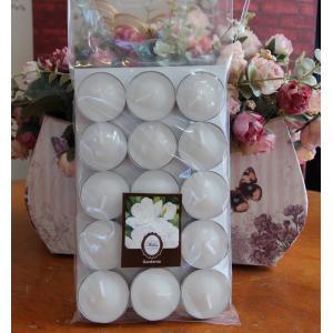 เทียนหอมทีไลท์ [Tealight Candle] กลิ่น ดอกการ์ดีเนีย [Gardenia ] 15 ชิ้น ต่อแพ็ค