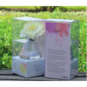 ก้านไม้หอมอโรม่าดอกไม้ ในขวดแก้ว ขนาด 40ml กลิ่น ดอกลิลลี่จัสมิน
