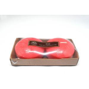 เทียนหอมลอยน้ำแบบใหญ่ [Jumbo Floating Candle] กลิ่นกุหลาบ (ROSE) 2 ชิ้น ต่อแพ็ค