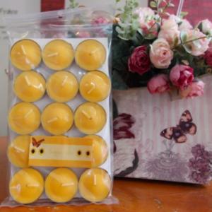 เทียนหอมทีไลท์ [Tealight Candle] กลิ่น ดอกทานตะวัน [Sunflower] 15 ชิ้น ต่อแพ็ค