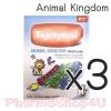 (ซื้อ3 ราคาพิเศษ) TIGERPLAST ANIMAL KINGDOM PLASTER 8 ชิ้น ไทเกอร์ พลาส ลายสัตว์ป่าน่ารัก ปิดแผล ได้ทั้งเด็ก และผู้ใหญ่