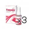 (ซื้อ3 ราคาพิเศษ) Funginox Solution Spray 25 mL รักษาเชื้อรา โรคผิวหนัง รังแค เชื้อราบนหนังศรีษะ พ่นบริเวณที่ต้องการ