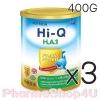 (ซื้อ3 ราคาพิเศษ) Dumex Hi-Q H.A 1 ไฮคิว เอช เอ 1 พรีไบโอโพรเทก 400 กรัม นมผงสูตรสำหรับทารกที่มีความเสี่ยงต่อภูมิแพ้ และแพ้โปรตีนนมวัว