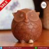 เทียนหอมนกฮูกสีน้ำตาล 240 กรัม (Small Brown Owl Candle)