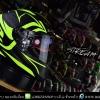 หมวกกันน็อค LS2 รุ่น FF320 STREAM EVO MATT BLACK H-V YELLOW