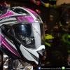หมวกกันน็อคBilmola รุ่น Gravity สี Spector Pink/Gray