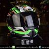 หมวกกันน็อคRider รุ่น Vision X สี Space Green