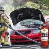ไฟไหม้รถยนต์ ควรปฎิบัติอย่างไร!? ทำไมต้องมีถังดับเพลิงติดรถ?