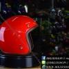 หมวกกันน็อคคลาสสิก 5เป๊กLB+ สีแดง สำเนา