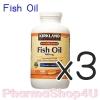 (ซื้อ3 ราคาพิเศษ) Kirkland Omega-3 Fish Oil 1,000 mg, 400 Softgels วิตามิน น้ำมันปลาและโอเมกา 3 เคิร์คแลน 1,000 มิลลิกรัม 400 เม็ด