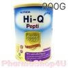 (แพ้นมวัว) HI-Q ไฮคิว เปปติ นมผงสำหรับทารกแรกเกิดถึง 1 ปี 900 กรัม โปรตีนเวย์ ที่ย่อยสลายให้เป็นโปรตีนขนาดเล็ก สามารถใช้ดื่มแทนนมวัวและใช้ปรุง