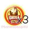 (ซื้อ3 ราคาพิเศษ) Gorilla Hot&warm Aroma Gel 12g เจลสูตรดม และทาแมลงสัตว์กัดต่อย ของ น๊อต วรฤทธิ์ กลิ่นหอม ชื่นใจ