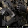 ถุงมือทหาร สีดำ