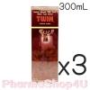 (ซื้อ3 ราคาพิเศษ) Twin ทวิน ยาน้ำสมุนไพร ผสมเขากวางอ่อน 300mL ใช้บำรุงร่างกาย บรรเทาอาการปวดเมื่อยตามร่างกาย ด้วยส่วนผสม เขากวางอ่อน โสม ตังกุย และอื่นๆ