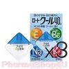 (ซื้อ3 ราคาพิเศษ) (สีฟ้า) Rohto Cool Vita 40 Alpha Eyedrops 12mL น้ำตาเทียม โรโตะ สูตรเย็นระดับ5 ผสมวิตามินE, B6, Na บำรุงตาที่อ่อนล้าให้สะอาดชุ่มชื่น เย็นชื่นใจ
