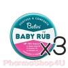 (ซื้อ3 ราคาพิเศษ) Babini Baby Rub บาบินิ เบบี้ รับ 18 G ผลิตภัณฑ์บาล์มนวดผิวกาย สูตรอ่อนโยน พิเศษสำหรับเด็ก เพื่อการผ่อนคลาย หายใจโล่ง