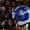 หมวกกันน็อคคลาสสิก 5เป๊ก (มีแว่น) สี MotorOil/Blue