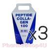 (ซื้อ3 ราคาพิเศษ) Peptide Collagen 100 Cow(Nippi Origin) 110 g เปปไทด์คอลลาเจนจากวัว ผิวชุ่มชื่น บำรุง ผม เล็บ กระดูก ฟัน ลดปวดข้อรูมาตอยด์ ลดริ้วรอย